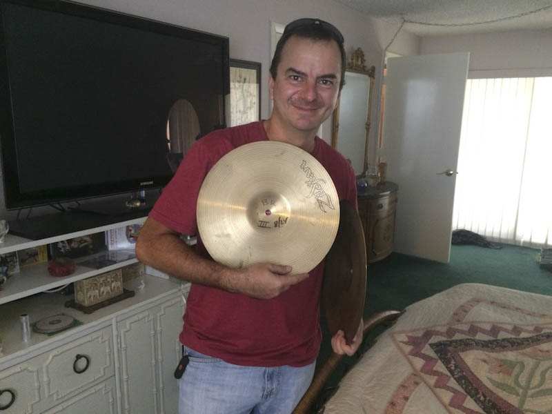 Eduardo Schneider photography cymbals buddy rich david lucas blue oyster cult